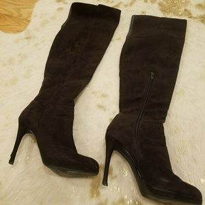 Dark Brown Knee high boots!